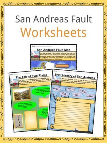 San Andreas Fault Worksheets