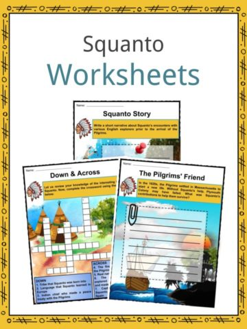Squanto Worksheets