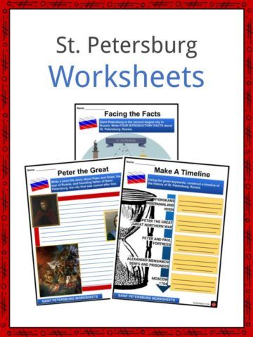 Saint Petersburg Facts, Worksheets, Geography, Culture & History Kids