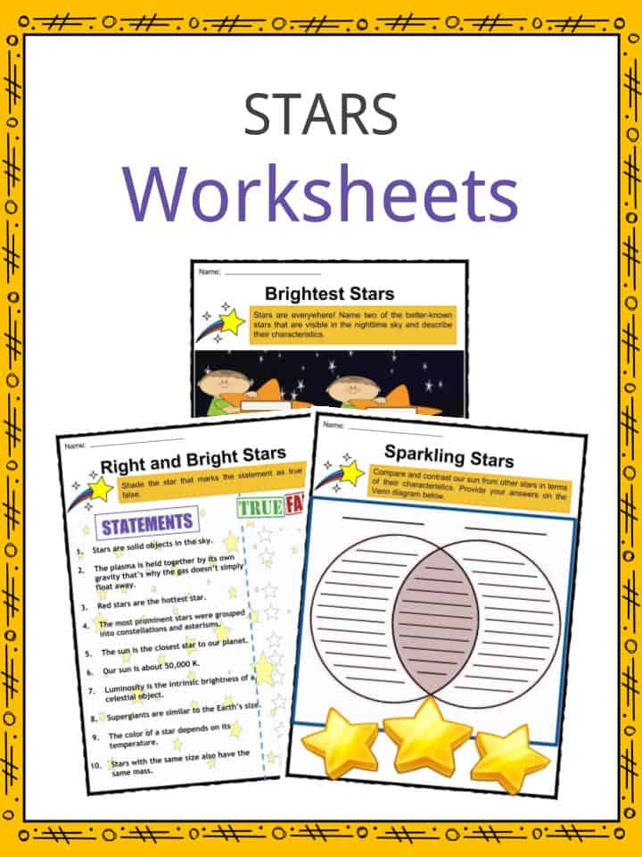 Stars Worksheets