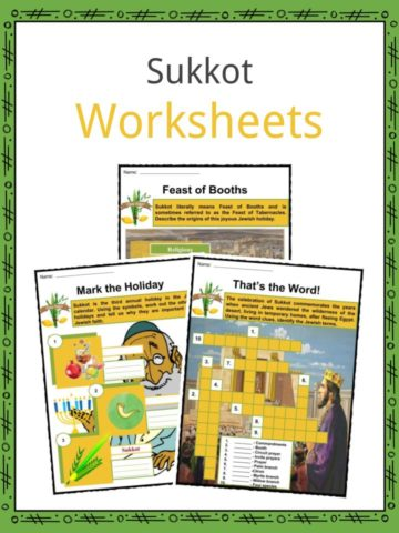 Sukkot Worksheets