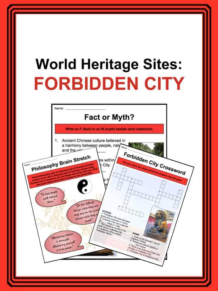 World Heritage Sites - Forbidden City Worksheets