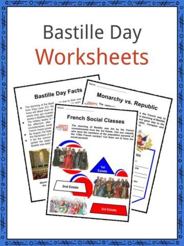 Bastille Day Worksheets