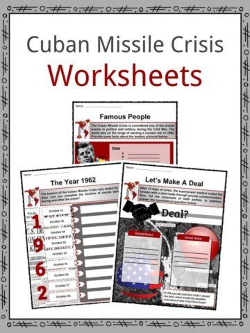 Cuban Missile Crisis Worksheets