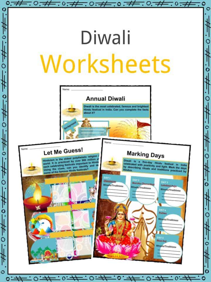 Diwali Worksheets