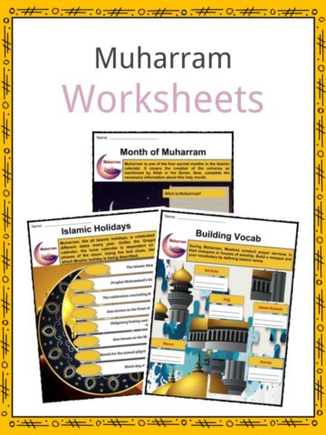 Muharram Worksheets
