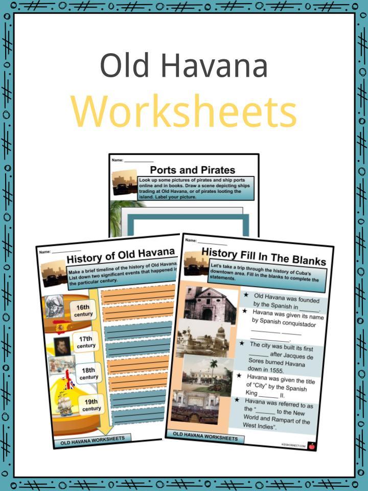 Old Havana Worksheets