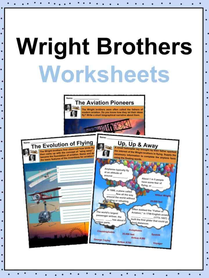 Wright Brothers Worksheets