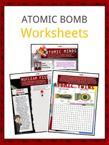 ATOMIC BOMB Worksheets