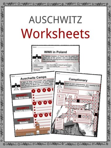 Auschwitz Worksheets