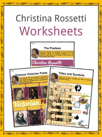Christina Rosetti Worksheets