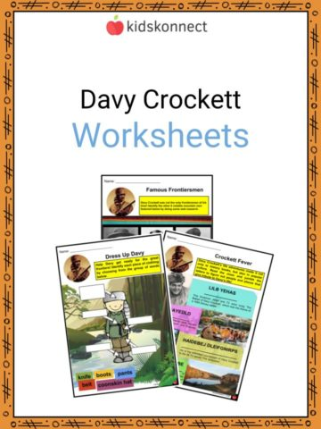 Davy Crockett Worksheets