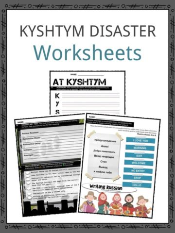 KYSHTYM DISASTER Worksheets