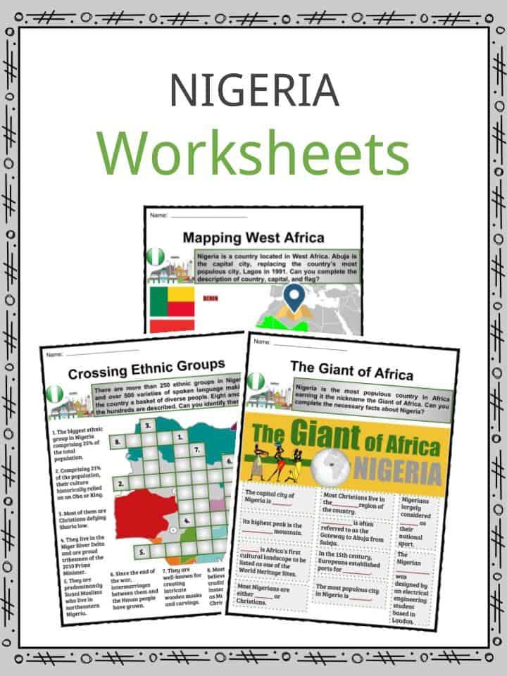 Nigeria Worksheets