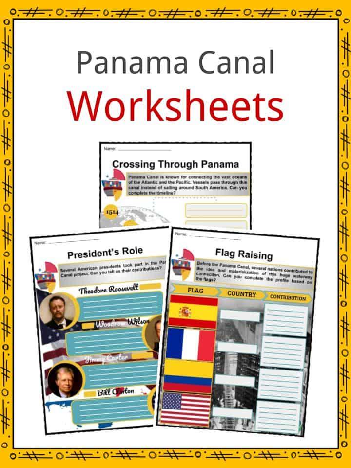 Panama Canal Worksheets