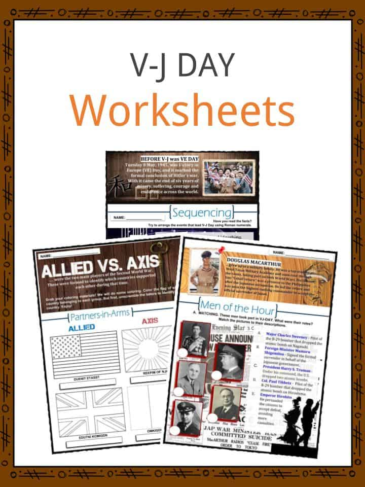 V-J Day Facts, Worksheets, Significance & Outcome For Kids