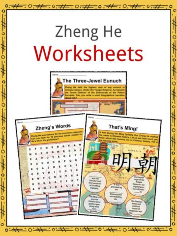 Zheng He Worksheets