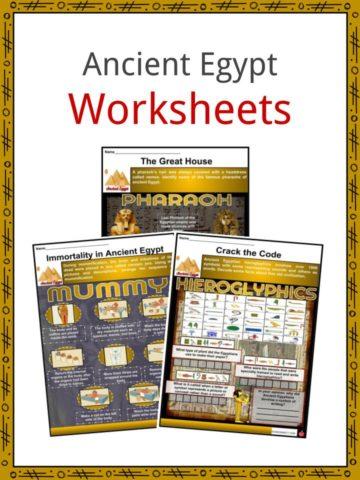 Ancient Egypt Worksheets