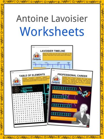 Antoine Lavoisier Worksheets