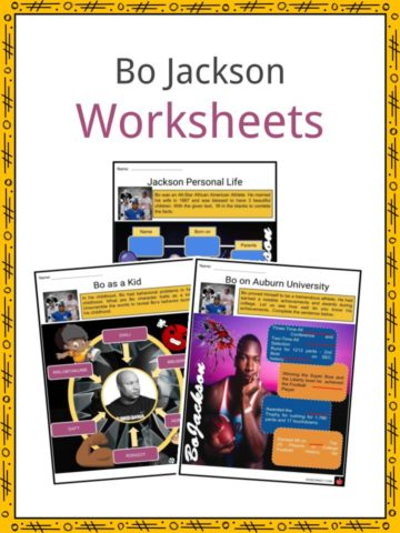 Bo Jackson Worksheets