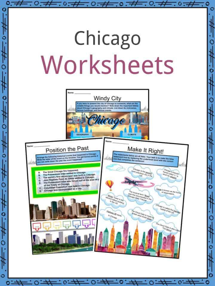 Chicago Worksheets