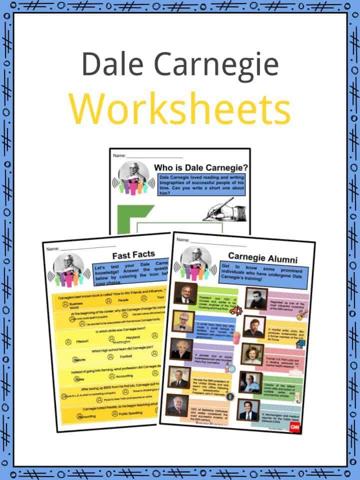 Dale Carnegie Worksheets