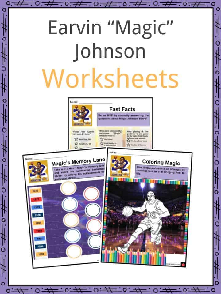 Earvin _Magic_ Johnson Worksheets