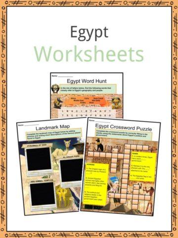 Egypt Worksheets