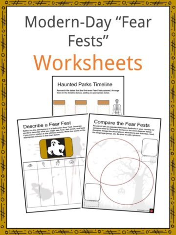 Fear Fests Worksheets