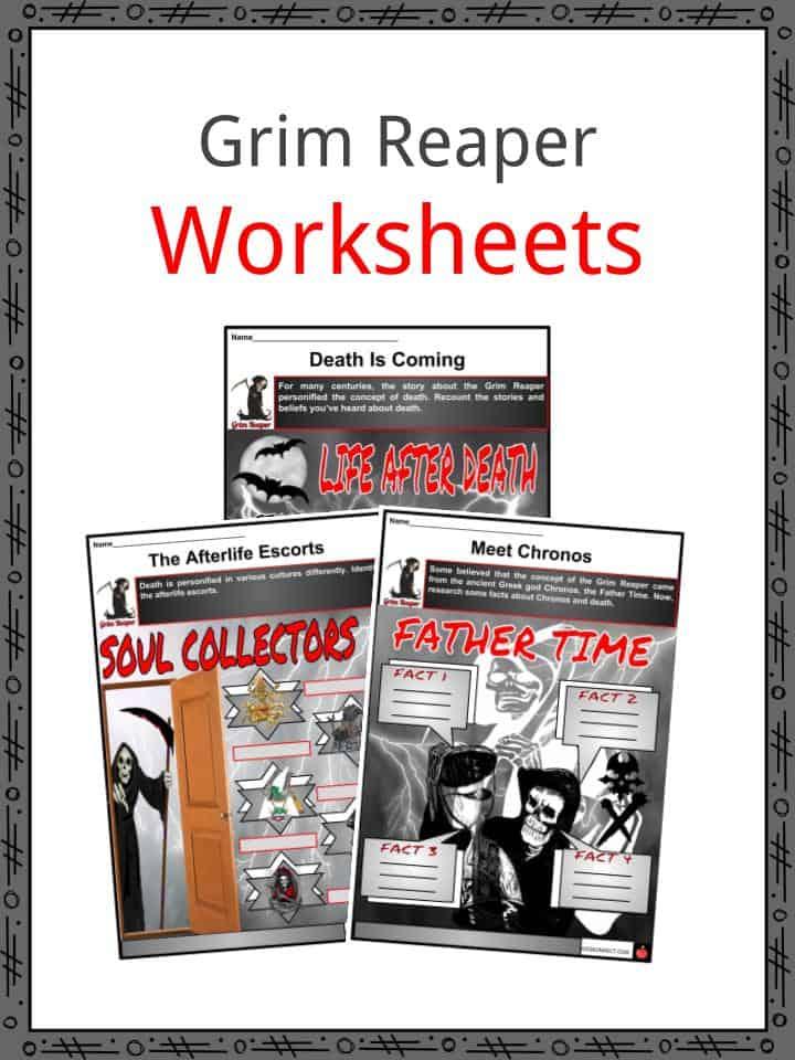 Grim Reaper Worksheets