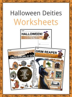 Halloween Deities Worksheets