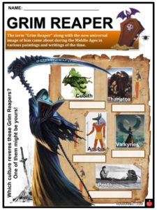 Halloween Deities Facts, Worksheets, Origins, Underworld