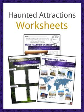 Haunted Attractions Worksheets