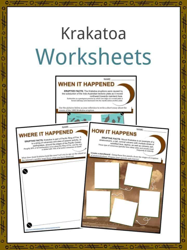 KRAKATOA Worksheets