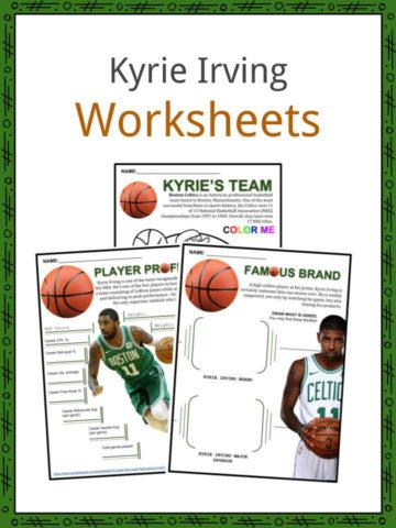 Kyrie Irving Worksheets