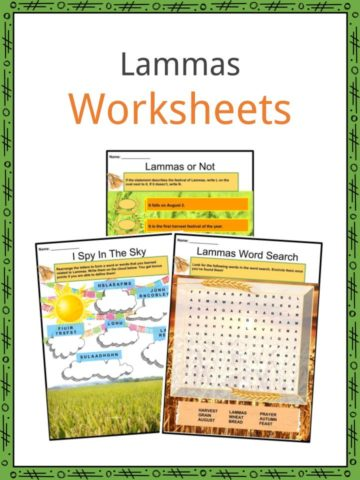 Lammas Worksheets