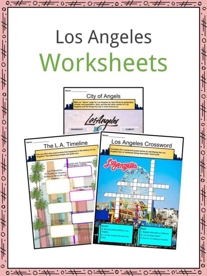 Los Angeles Worksheets