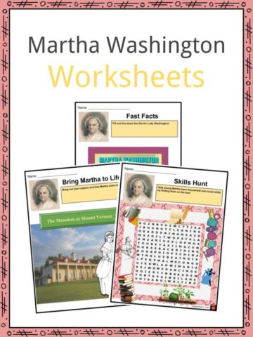 Martha Washington Worksheets