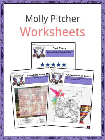 Molly Pitcher Worksheets