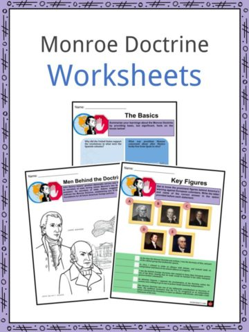 Monroe Doctrine Worksheets