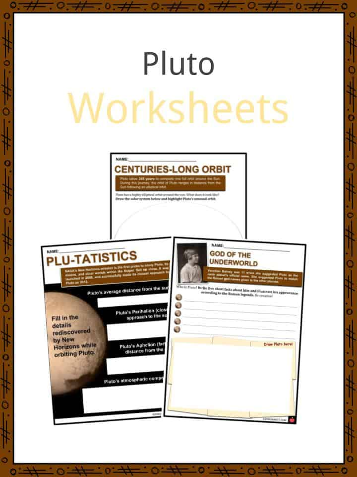 Pluto Worksheets