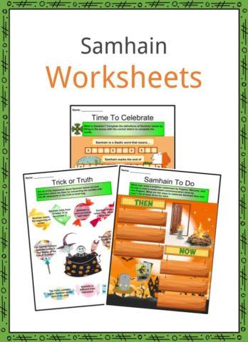 Samhain Worksheets