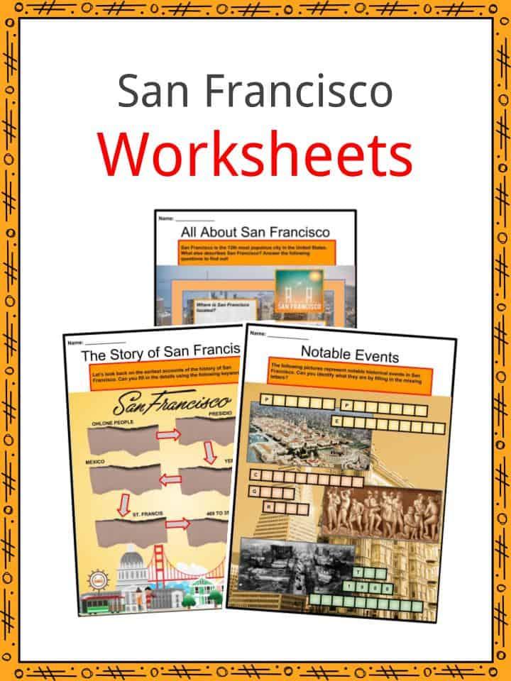 San Francisco Worksheets