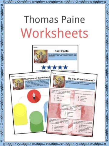 Thomas Paine Worksheets