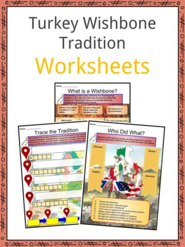 Turkey Wishbone Worksheets