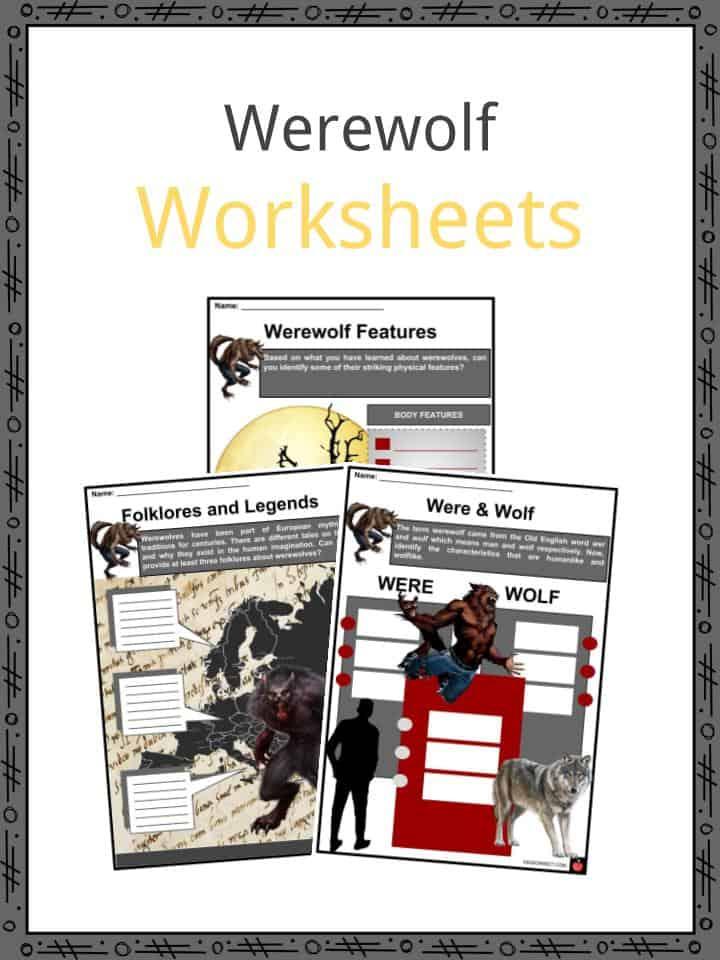 Werewolf Worksheets