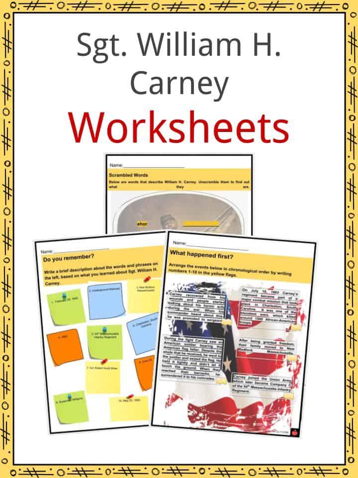 William Carney Worksheets