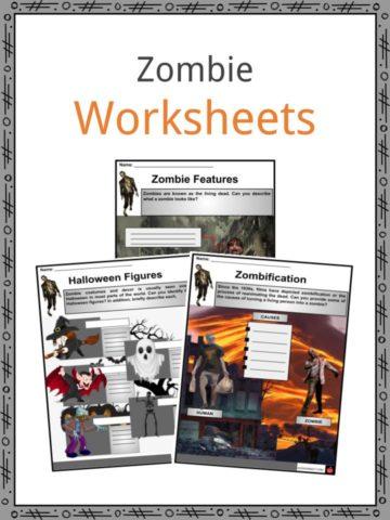 Zombie Wroksheets