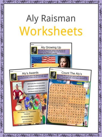 Aly Raisman Worksheets