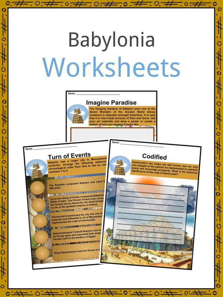 Babylonia Worksheets